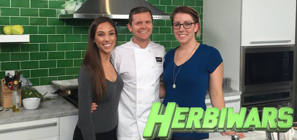 Herbiwars – First Vegan Cooking Challenge Show – Chefs Emira Kowalska and Jackie Sobon