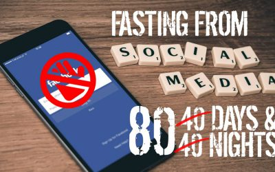 Social Detox Part II: Fasting 80 days & 80 Nights without social media